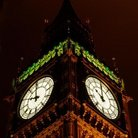 Picture - Clock faces of Big Ben in London.