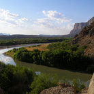 Picture - Bend in the Rio Grande within Big Bend National Park, Texas.