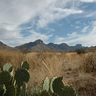 Picture - Landscape of Big Bend National Park.