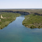 Picture - Overview of the Rio Grande River within Big Bend National Park, Texas.