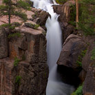 Picture - Shell Falls in Bighorn National Forest.