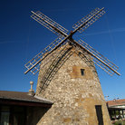 Picture - Stone windmill at Algorta.