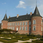 Picture - View of the Alden Biesen Castle.