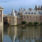 Picture - The Dutch Parliament buildings, Binnenhof, in The Hague.