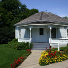Picture - The Birthplace of John Wayne in Winterset.