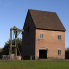 Picture - Early pumping station used to pump water out of a mine shaft at the Black Country Museum in Dudley.
