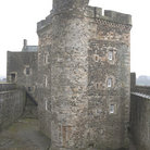 Picture - Tower of Blackness Castle near Linlithgow.