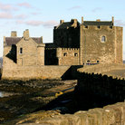 Picture - View of Blackness Castle and the waterfront.