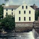 Picture - The Slater Mill Historical Site along the Blackstone River.