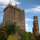 Picture - Looking up at the Blarney Castle.