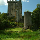 Picture - The old stone Blarney Castle.