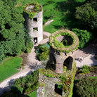 Picture - Aerial view of Blarney Castles.
