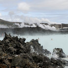 Picture - The Blue Lagoon resort with geothermal baths.