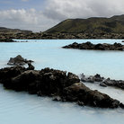 Picture - The creamy waters of the Blue Lagoon resort.