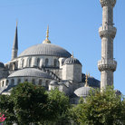 Picture - Sultan Ahmet Mosque in Istanbul widely known as the Blue Mosque.