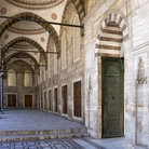Picture - Interior of the Blue Mosque in Istanbul.