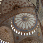 Picture - Ornate Interior of the Blue Mosque in Istanbul.