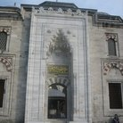 Picture - Side entrance of the Blue Mosque in Istanbul.