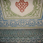 Picture - Iznik tiles decorations in the Blue Mosque in Istanbul.