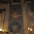 Picture - Decorated interior of the Blue Mosque in Istanbul.