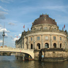 Picture - The Bode Museum on the Spree River in Berlin.
