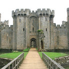 Picture - Entrance to Bodiam Castle.