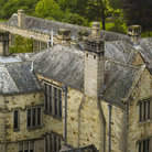 Picture - View over the Lanhydrock House and Gardens in Bodmin.