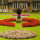 Picture - Garden of the Lanhydrock House in Bodmin.