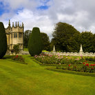 Picture - The beautiful gardens of the Lanhydrock House in Bodmin.