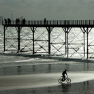 Picture - Beach and pier at Bognor Regis.