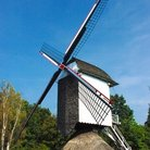 Picture - A Windmill in the city of Bokrijk.
