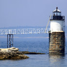Picture - Burnt Island lighthouse, Boothbay Harbor.