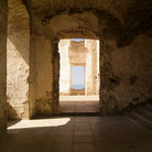 Picture - Doorway at Borgholm Castle.
