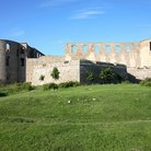 Picture - The ruins of Borgholm Castle.