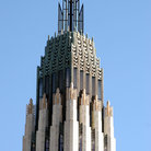 Picture - Art Deco Tower on the Boston Avenue Methodist Church in Tulsa, Oklahoma.