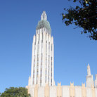 Picture - Art Deco style of the Boston Avenue Methodist Church in Tulsa, Oklahoma.
