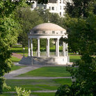 Picture - Parkman Bandstand (built 1912), Boston Common.