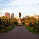 Picture - Statue in Boston Common, Boston, Massaschussetts.