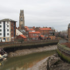 Picture - Overview of Boston seen from the River Witham.
