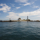 Picture - Boston Light on Little Brewster Island in the Boston Harbor Islands National Recreation Area.