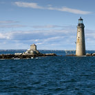 Picture - The Graves Light in the Boston Harbor Islands National Recreation Area.