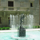 Picture - Boston Public Library Courtyard Fountain.