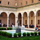 Picture - Courtyard at the Boston Public Library.