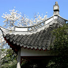 Picture - Historical pavillion in the Botanical Gardens, Shanghai.