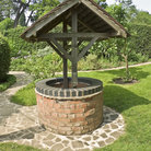 Picture - A well at the Birmingham Botanical Gardens.