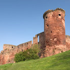 Picture - The ruins of Bothwell Castle.