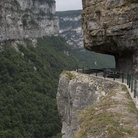 Picture - Walkway at Gorges de la Bourne.