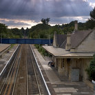 Picture - Train station at Bradford on Avon.