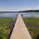 Picture - Long walk to Bay Lake in Brainerd.