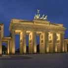 Picture - The Brandenburg Gate in Berlin.